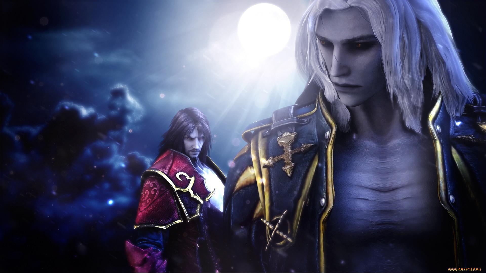 видео игры, castlevania,  lords of shadow 2, dracula, trevor, belmont, alucard, gabriel
